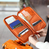 Honana HN-PB7 6 Kleuren Portable Passport Holder Duurzame Grote Tickets Credit Cards Organizer Travel
