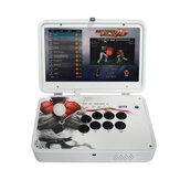 PandoraBox 3D 4018 Games Arcade Game Console 14 inch IPS 1080P HD Display Support Wifi TV Output Retro Arcade Fight Stick Rocker Controller
