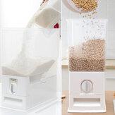 15Kg Plastic Cereal Dispenser Storage Box Kitchen Food Rice Grain Container Organizer for Kitchen Grain Storage Cans Container Jars