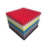 12pcs Studio Acoustic Foam Sound Absorbtion Proofing Panels Tiles Wedge 30X30CM