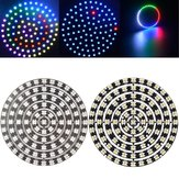 LUSTREON WS2812B 5050 SMD RGB RGBW RGBWW 93LEDs Ring Light Chip Board DC5V