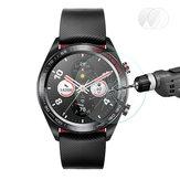 Enkay 2 pcs 0.2mm 9 h 2.15d temperado vidro protetor de tela do relógio para Huawei Honor assista magic series