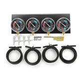 Moto Carb Carburettor Fuel Vacuum Gauge Balancer herramienta Set para cilindro de 2/4