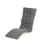 Long Rocking Chair Mat Folding Thick Garden Comfortable Furniture Sofa Recliner Back Cushion Pillow Seat Home Supplies