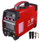 WS-250 220V 7000W Portable sans gaz TIG soudeuse Kit de Machine de soudage électrique d'alimentation de fil de Flux automatique