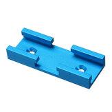 80mm ze stopu aluminium łącznik kątowy T-Track Suwak nakrętki DIY narzędzie do obróbki drewna niebieski