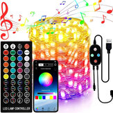 App Remote Control Christmas Tree Decoration Custom LED String Lights 2/5/10/15/20M