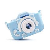Mini câmera digital infantil de carregamento USB 20 polegadas 20MP Pixel Brinquedo de câmera de movimento DSLR pequeno para presentes de aniversário de crianças