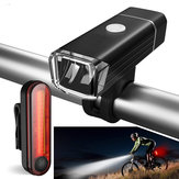 XANES BLS11 650LM 4 Modes German Standard Cycling Bike Bicycle Light Set USB Rechargeable Headlight/Taillight