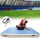 78.74x78.74x7.87inch Nadmuchiwana mata powietrzna Tumbling Track Gimnastyka Fitness Trening z pompą powietrza