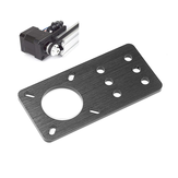 Machfit Aluminum Nema 17 Stepper Motor Mount Plate for CNC Machine V-slot Aluminum Extrusions Profile CNC Parts