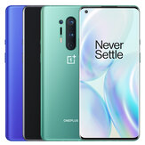 OnePlus 8 Pro 5G Global Rom 6.78 inch QHD + 120Hz Fluid عرض IP68 NFC Android10 4510mAh 48MP رباعي الخلفية الة تصوير 12GB 256GB Snapdragon865 الهاتف الذكي