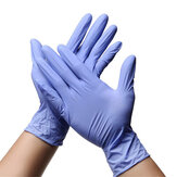 100PCS Disposable Nitrile Protective Gloves S/M/L/XL Powder Free Latex Free Isolate Bacteria Glove Personal Health