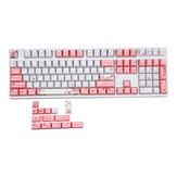 MechZone 122 Keys Cherry Blossom Keycap Set OEM Profile PBT Keycaps for Mechanical Keyboards