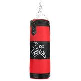 Kit de saco de Areia de boxe Soco Bolsa Luvas de Boxe Aço Cadeias Bracers Segurança Fivela Sanda Equipamentos