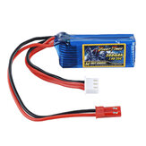 DINOGY 7.4V 300mAh 35C 2S Lipo Battery JST Plug for RC Racing Drone