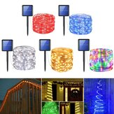 12m 50LED 8 Modes Solar String Lights Fairy Strip Yard Party Wedding Decor Colorful Waterproof