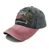 Baseball Cap Retro Sun Hat Cartoon Embroidery Hats For Outdoor