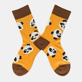 Panda Tide Socks Men And Women With The Same Street Creative Sweat-Absorbent Couple On The Street Socks