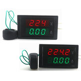 DL69-2042 4-Digit Dual Display Current Voltmeter AC 80-300V 0-100A Led Volt Amp Meter Voltage Current Meter