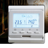 MINCO HEAT M6.716 LCD Programmable Smart Thermostat Digital Display Temperature Controller for Electric Floor Heating Room Air