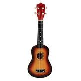 21-calowy drewniany sopranowy zestaw gitarowy 12 progów hawajski instrument z torbą