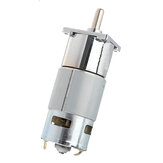 Machifit DC 24V 10/30/50/100RPM Geared Motor with bracket 775 Reversible Gear Reducer Motor