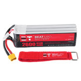 BT BEAT 11.1V 2600mAh 35C 3S Lipo Battery XT60 Plug With Battery Strap for FLY WING FW450 RC Helicopter