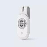 ClearGrass Bluetooth Guitar Termômetro Higrômetro Eletrônico Umidade Inteligente de Temperatura Sensor LCD Tela Digital APP Controle de