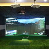 Golf Ball Simulator Impact Display Projection Screen Indoor Game Special Golf Target Cloth