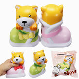 SquishyShop Cucciolo in Boots Jumbo Dog Shoes Squishy lento in aumento con confezione regalo Decorazione