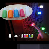 5PCS Creative Colorful Mini Sucker Lamp Night Light LED Refrigerator Window Decor