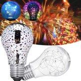 AC85-265V E27 Colorful Crystal Flashing Radiation Ball LED Light Bulb Party Christmas Holiday Lamp