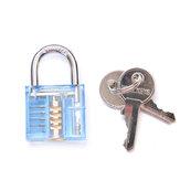 دانيو 5 دبابيس الأزرق شفاف اختيار كوتاواي فيزابل داخل عرض قفل قفل ل قفال الممارسة التدريب