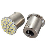 1156 BA15S 22SMD Car LED Backup Reverse Tail Light Bulbs Bright White