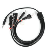 8 in 1 Programming Cable for Motorola PUXING BaoFeng UV-5R for Yaesu for Wouxun hyt for Kenwood Radio Car Radio