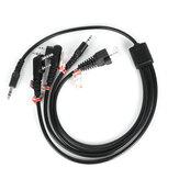 Kabel do programowania 8 w 1 dla Motorola PUXING BaoFeng UV-5R dla Yaesu dla Wouxun hyt dla Kenwood Radio Radio samochodowe