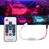 DC5-24V Mini 14 Keys RF Wireless Дистанционный Контроллер для WS2811 WS2812B 5050 RGB LED Strip Light