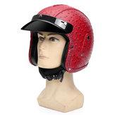NOKTA 3/4 Yüz Motosiklet Motosiklet Kask Scooter Sürme Koruma Visor ML XL