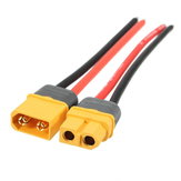 Amass XT60 Male Female Power Cable 14AWG 10cm