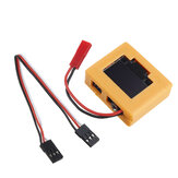 高精度PPM / SBUS / PWM信号検出器自動認識アナライザー送信機受信機フライトコントローラー用バッテリー電圧表示