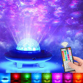 USB Projector Night Light bluetooth Audio LED Starry Sky Projection Lamp Remote Control