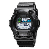 SKMEI 1633 Sport Men Watch Luminous Date Week Display Stopwatch 5ATM Waterproof Outdoor Digital Watch