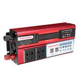 500W CC 12V / 24V à CA 110V / 220V Onduleur modifié à onde sinusoïdale 4 USB