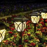 6Pcs Solar LED Pathway Lights Set Outdoor Yard Garden Walkway Landscape Lamp