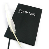 Death Note book Lovely Fashion Anime Tema Death Note Cosplay Notebook Scuola di grandi dimensioni Journal