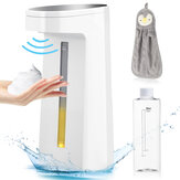 GEMITTO Automatic Foaming Soap Dispenser 250ml/ 8.5oz Touchless Soap Dispenser Waterproof Hand Washer