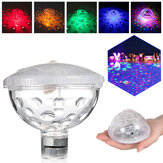 Floating Underwater Light RGB Submersible LED Disco Party Swimming Pool Lamp