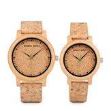 BOBOBIRDW*MontreM11M12 Unique Design Watch Bande Quartz