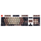 Feker 108 Keys Halloween Keycap Set OEM Profile PBT Dye-Sublimation Keycaps for Mechanical Keyboard
